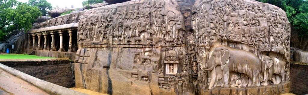 Significance of Arjuna's Penance in Mahabalipuram