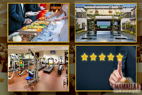Catering, facilities and customer reviews of banquet hall