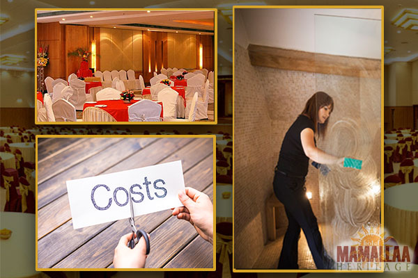 Cost and service of banquet hall in ecr
